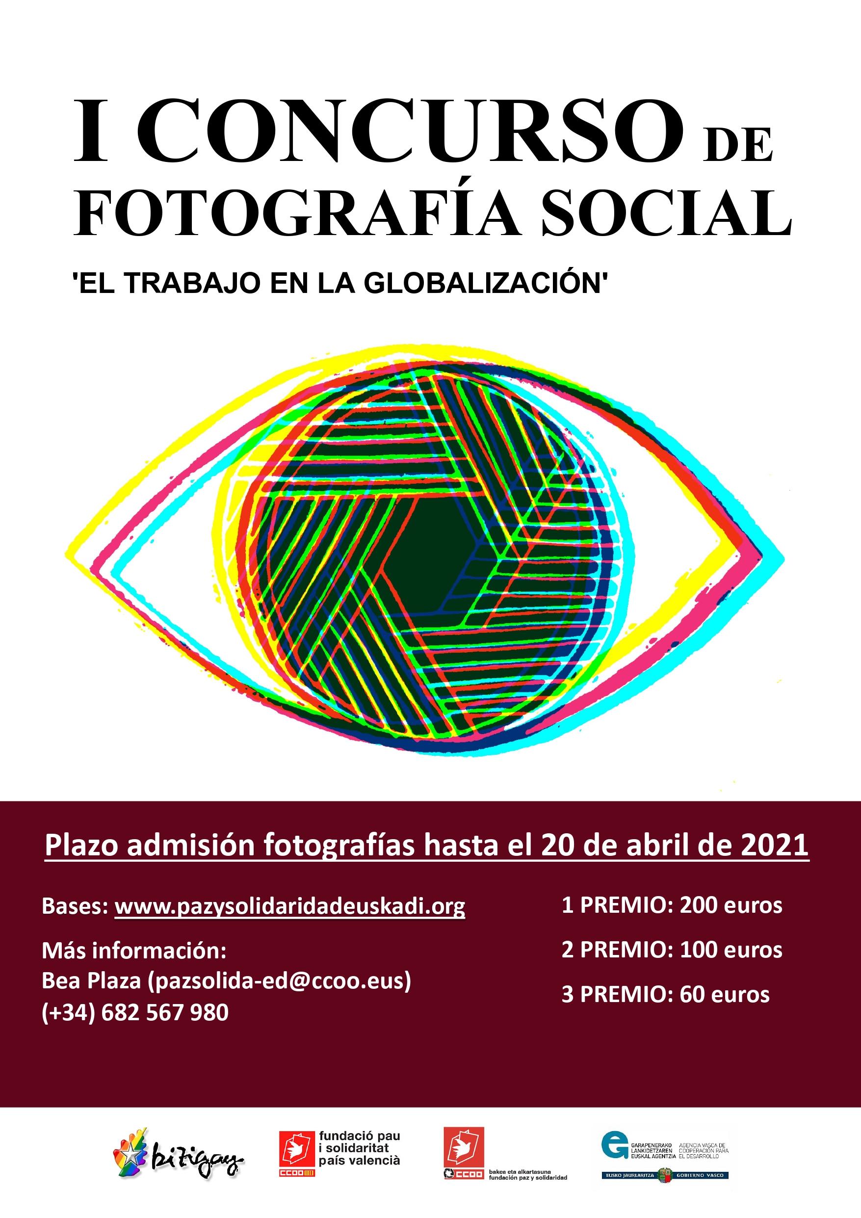 Paz y Solidaridad Euskadi convoca el primer concurso de fotografía social que en esta edición se dedica al trabajo en la globalización