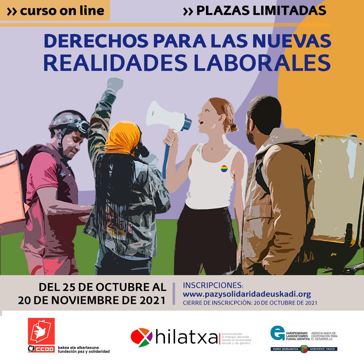 Curso online: Derechos para las nuevas realidades laborales