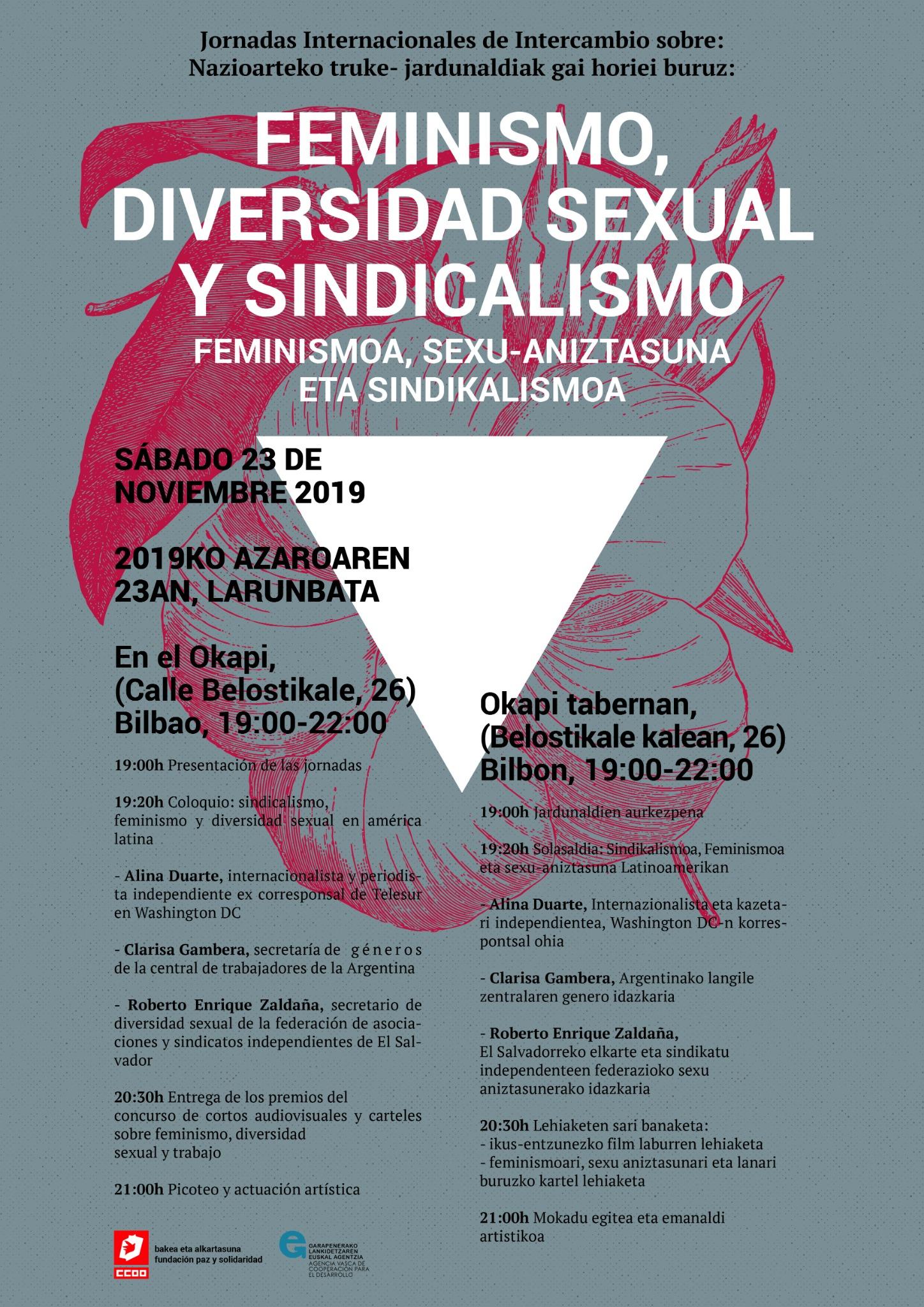 Feminismo, diversidad sexual y sindicalismo